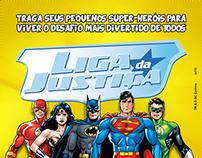 Liga da Justiça no Shopping Nova América