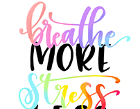 breathe more stress less