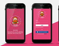 Foody Mobile UI App