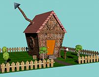 Diseño de escenario y objetos 3D – Proyecto Low Poly