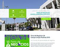 Website | Feira de Negócios - Campo Limpo Paulista 2015