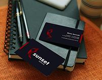 Logotipo e cartão de visita_ Sunset Musical