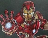 Iron Man - Drawing