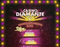 Casino diamante, motion graphics