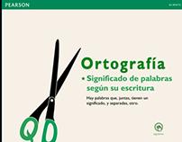 Ejercicios ortográficos PEARSON