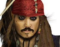 Jack Sparrow - iIlustration