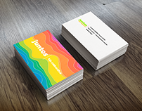 Colorful Business Card.
