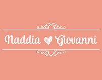 Boda - Naddia y Giovanni