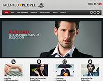 Página web de empresa de selección de personal