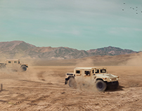 Off Road - Matte Painting