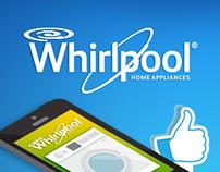 Whirlpool, Infografía de Social Media.