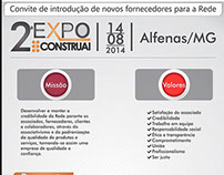 Convite 2º ExpoConstruai