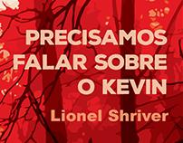 """Capa do livro """"PRECISAMOS FALAR SOBRE O KEVIN"""""""