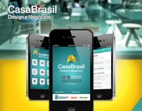 Aplicativo Casa Brasil 2013 (para iOS e Android).