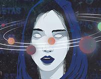 """Ilustração - """"Dança dos Planetas"""""""