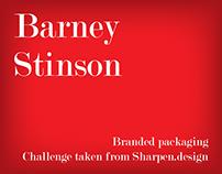 Branded packaging - Barney Stinson