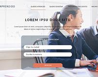 """Aprendido"" web design"