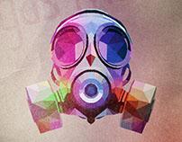 Máscara de Gás Poligonal