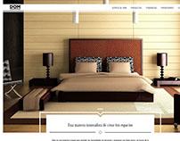 Propuesta de website para Dom Design Solutions