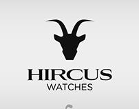Logo Design - Hircus Watches