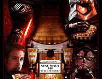 """Star wars poster """"the long waiting"""""""