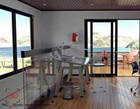 Cabaña en Sisga - Estudio