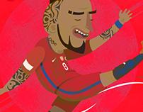 Arturo Vidal - Chile