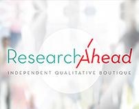 """Research Ahead"", website for research agency"