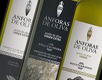 Ánforas de Oliva-  Rediseño de marca y packaging.