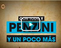 Promoción genérica para el programa Con todo y Penzini