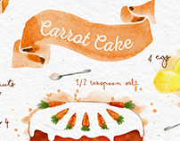 Carrot Cake Card