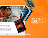 Website ~ Turn the Page ~ Web design