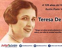 Efemeride Teresa de la Parra