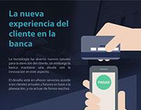 Infografía - La nueva experiencia en la Banca