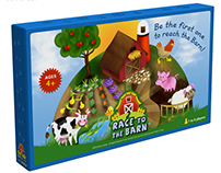 Race to the Barn TM board game
