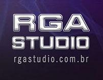 Site RGA Studio, Criação de Sites e Gravação de Jingles