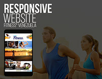 Propuesta responsive website - Fitness® Vzla.