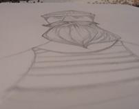 """Ilustración """"Amor marinero"""""""