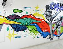 Indoor Graffiti