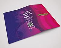 Tri fold/ tríptico folleto
