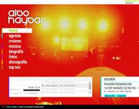 AldoHaydar.com v2 (flash 2 html5)