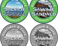 Logotipo Salvaje Sándalo Restobar