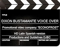 Corporate voice, video Promotional ECONOFROST