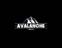 Avalanche • Rock Band Logotype