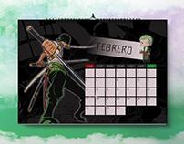 Calendario Anime