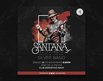 Santana: El Tributo.- Event Flyer