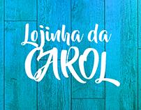 Logo e fotografia - Lojinha da Carol
