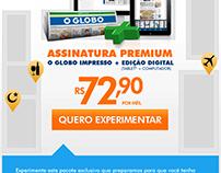 E-mail de lançamento do Pacote Digital