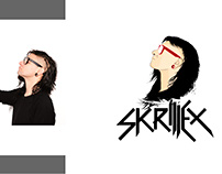 Skrillex illustration made by me