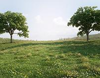 Render de vegetación (proxys)
